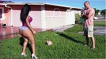 BANGBROS - Latina Rose Monroe's Big Ass Bouncing On Sean Lawless's Cock's Thumb