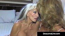 Texas cougar deauxma watches as sally dangelo bangs hubby - 1 part 10