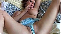 Sexy MILF plays with her_pretty pussy Thumbnail