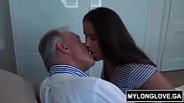 Teen girl with her grandpa Thumbnail