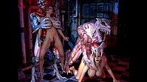 Freak Monsters Bang 3D Girls! Thumbnail