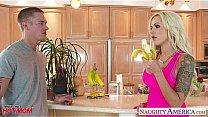 Busty mom Nina Elle gets nailed and facialized's Thumb
