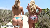 BANGBROS - The Ass Battle! Phoenix Marie VS Alexis Texas (ap8307)'s Thumb