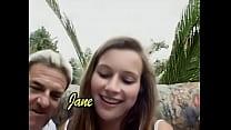 polish girl anal in garden