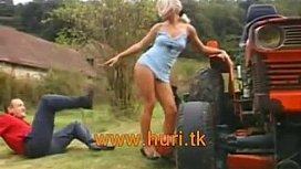 Hot sex ebony teen fuck by farmer granny porn tube