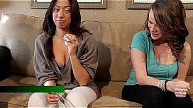Teen chatting topless girls puking milk lee naked