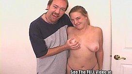 Busty pregnant bukkake