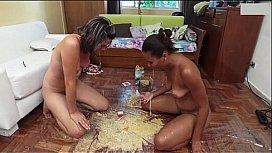 Teen girls screaming nude