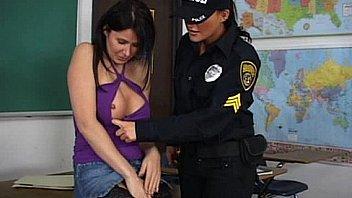 Lesbian strapon sex