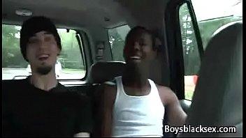 Nasty Public Fuck For Interracial Gays
