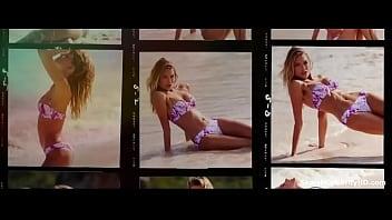 Lily Aldridge Elsa Hosk in The Victoria's Secret Swim Special 2015-2016