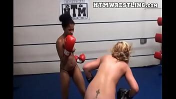 boxing lesbian Nude girls