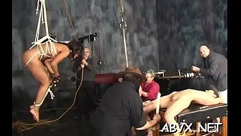 Fascinating teen non-professional bondage