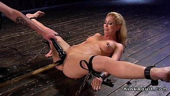 Bondage Blonde milf