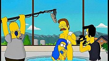 Zadarmo Simpson karikatúra porno videá