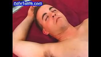 Naked Jock In Bed