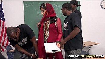 Nadia Ali Obtient Gang Banger...