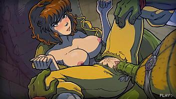 Teenage Mutant Ninja Turtles gay porno