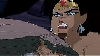 Batman fuck Hawkgirl