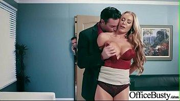 (Nicole Aniston) Hot Kontor Tjej...
