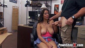 Big tits pawn