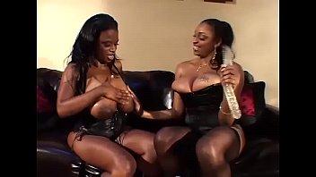 Black lesbian panthers hard sex...