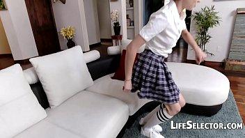 Take spoiled brat schoolgirl teen...