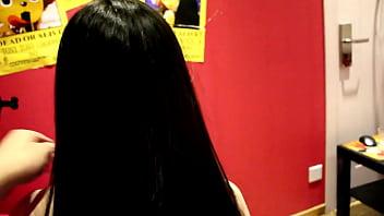 Hairjob video-053