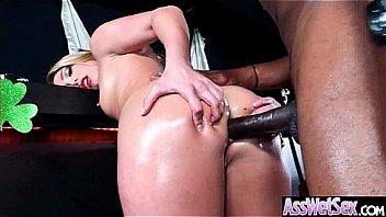 (AJ Applegate) Huge Butt Oiled...