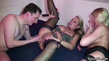 Big blonde ass