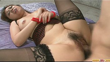 cute and lovely babe in stockings teasing fondled fucked hard