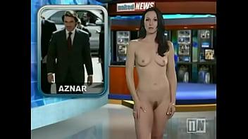 Carli Bei Naked News