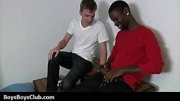 8768 black teen white man banged by