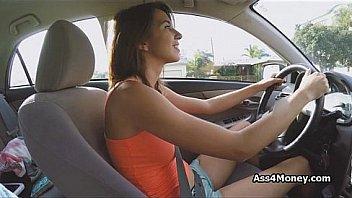 Big tit uber conducteur souffle...