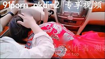 Kina motorvej, brudepige Blowjobs bil...