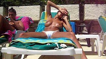 Amusing information Candid beach thong voyeur Lingerie free sex
