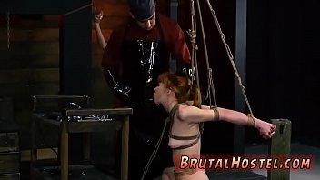 Big dick bondage gangbang and extreme hardcore fucking Sexy young