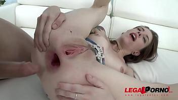 anna de ville assfucked again balls deep double anal ultra hot