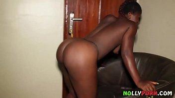 Ebenholz Kongolesischen Babe Reitet Nigerianischen...