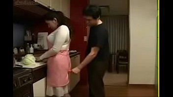 Japanese mom seduces boy - 4 4