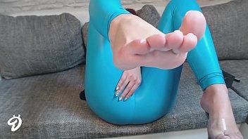 Wetlook glanz Fetisch Legging