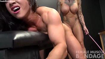 Naked Female Bodybuilders Bondage Play