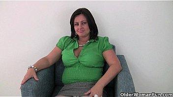 Busty Madison Blush Sucks Cock