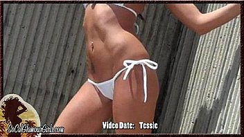 Bikini Cam Girl Strips at Beach