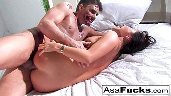 Asa Akira gets her ass...