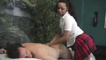 black masseuse
