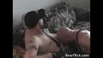 Tattooed homo hardcore sex