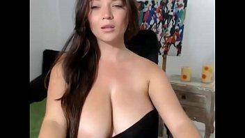 Big tits brunette Teen does...