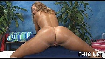 Hot girl with chubby vagina