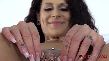 latina mara martinez finger fucking and clit rubbing